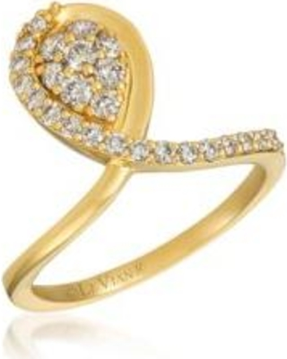 Le Vian Honey Gold Creme Brulee Ring 5/8 ct. t.w. Nude Diamonds™ in 14K Honey Gold™