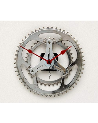 Deals For Recycled Bike Gear Clock Bike Wall Clock Industrial Wall Clock Modern Clock Upcycled Bike Gear Wall Clock Cycle Parts Clock Cyclist Gift