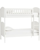 Austen Twin-over-Twin Bunk Bed, Simply White