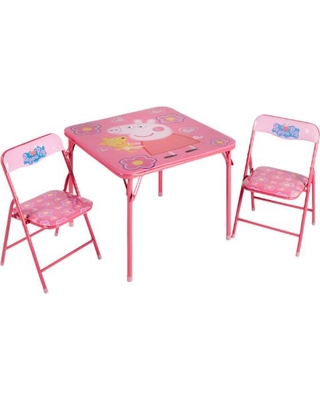 Special Prices On Peppa Pig Children S Folding Table And