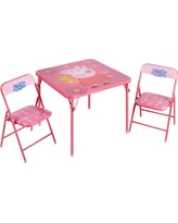 Peppa Pig™ Children's Folding Table and Chairs Set, 3-Piece