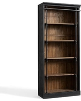 Gavin Bookcase, Crafted Black/Natural Pine