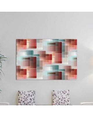"""East Urban Home Koroni Graphic Art on Wrapped Canvas ESRB2999 Size: 26"""" H x 40"""" W x 1.5"""" D"""