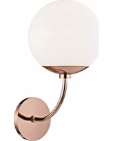 """Mitzi Carrie 14 3/4"""" High Polished Copper Wall Sconce"""