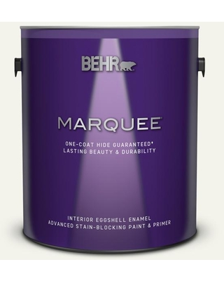 BEHR MARQUEE 1 gal. #W-F-700 Moon Rise Eggshell Enamel Interior Paint and Primer in One