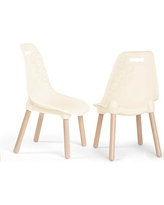 B. Spaces By Battat Kid Century Modern: Trendy Toddler Chair Set Of Two Kids