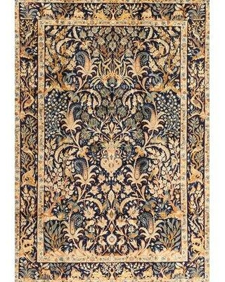 Bloomsbury Market Amersfort Traditional Brown/Blue/Beige Area Rug W001923376 Rug Size: Rectangle 2' x 3'