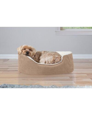 """Tucker Murphy™ Pet Faulkner Bolster Dog Bed ULNQ2869 Size: 19"""" W x 15"""" D x 5.5"""" H Color: Clay"""