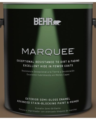 BEHR MARQUEE 1 gal. #700D-7 South Kingston Semi-Gloss Enamel Exterior Paint and Primer in One