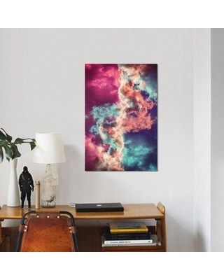 East Urban Home Yin Yang Painted Clouds Graphic Art Print On Canvas Erbh2820 Size