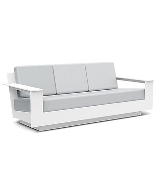 Nisswa Outdoor Sofa by Loll Designs - Color: Silver (NC-S-CW-40433-000)