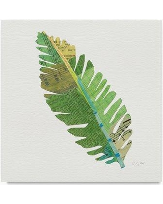 """Bay Isle Home 'Tropical Fun Palms IV' Graphic Art Print on Wrapped Canvas BYIL5339 Size: 18"""" H x 18"""" W"""
