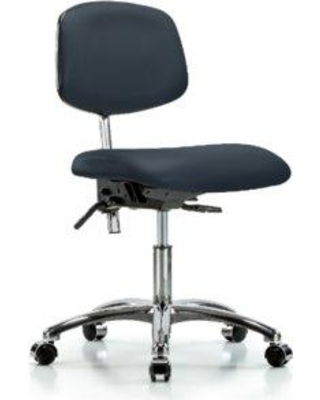 Symple Stuff Koa Desk Height Ergonomic Office Chair BI162221 Casters/Glides: Casters Color (Upholstery): Imperial Blue Tilt Function: Included