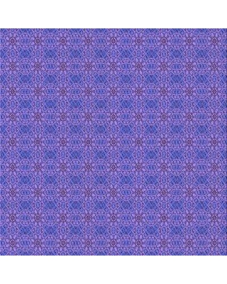 East Urban Home Floral Wool Purple Area Rug W001720633 Rug Size: Square 3'