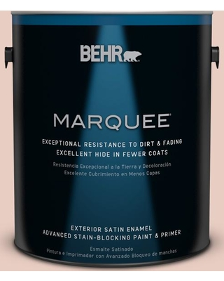 BEHR MARQUEE 1 gal. #230E-2 Malibu Coast Satin Enamel Exterior Paint and Primer in One