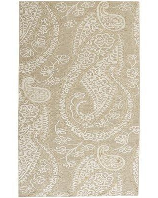 Capel Rugs Williamsburg Hanover Hand-Woven Light Tan Area Rug 1785RS0 Rug Size: 9' x 12'