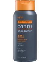 Cantu Men's 3 in 1 Shampoo Conditioner Body Wash - 13.5oz