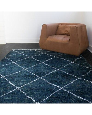 14 Off Union Rustic Boudreaux Geometric Navy Area Rug X112443223 Rug Size Rectangle 8 X 10