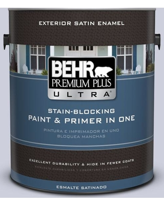 Shop Deals On Behr Ultra 1 Gal 640e 3 Simplicity Satin Enamel Exterior Paint And Primer In One