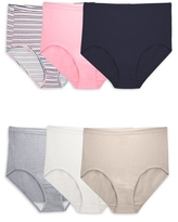 Shop Fit For Me By Fruit Of The Loom Plus Size Panties Shapeshop Shop undies and women's underwear at aerie to make your booty happy! fit for me women s plus comfort covered cotton assorted brief underwear 6 pack