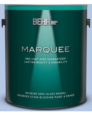 BEHR MARQUEE 1 gal. #590A-3 Beautiful Dream Semi-Gloss Enamel Interior Paint and Primer in One