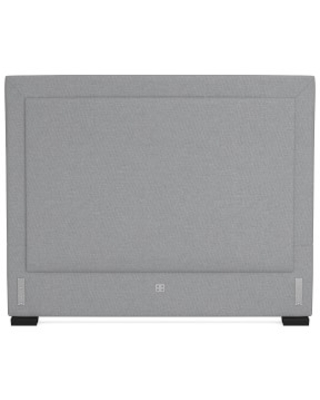 """Irving 63"""" Tall Headboard Only, California King, Perennials Performance Canvas, Charcoal"""
