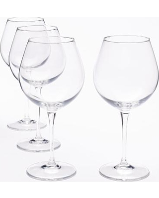 Food Network™ Signature 4-pc. Crystal Balloon Red Wine Glass Set, Multicolor