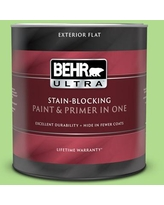 Deals For Behr Ultra 1 Qt Mq4 45 Spring Glow Flat Exterior Paint And Primer In One