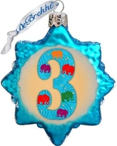 The Holiday Aisle 3 Mini Glass Ornament THLY6663