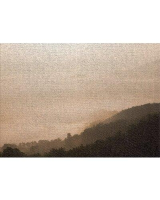East Urban Home Foggy Days 107 Brown Area Rug W001897840 Rug Size: Rectangle 2' x 5'