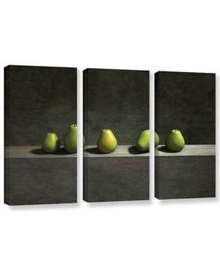 ArtWall Five Pears by Cynthia Decker 3 Piece Photographic Print on Wrapped Canvas Set 0dec012c3654w