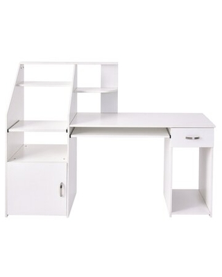 Gaming Desk With Hutch