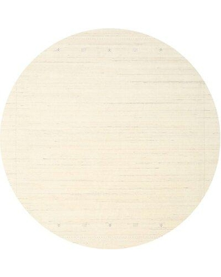East Urban Home Contemporary Beige Area Rug W000375349 Rug Size: Square 5'