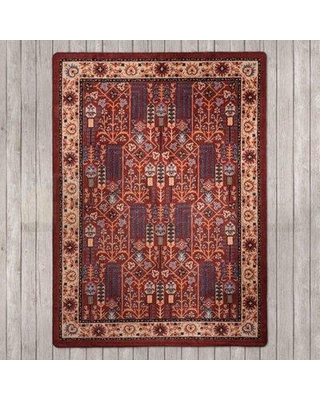Millwood Pines Mineo Passage Panache Area Rug RC0248PNC2 Rug Size: Rectangle 4' x 5'