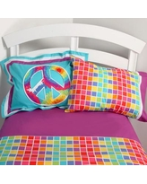 One Grace Place Terrific Tie Dye Sheet Set 10-34014 / 10-34019 Size: Full
