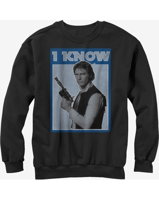 Star Wars Han Solo Quote I Know Sweatshirt