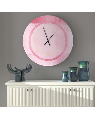 Tingsley Wall Clock East Urban Home Size: Small