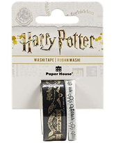 Paper House Productions Harry Potter Quidditch Match Set of 2 Foil Accent Washi Tape Rolls for Scrapbooking and Crafts
