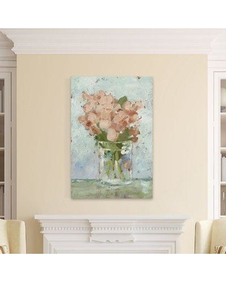 """August Grove 'Impressionist Floral Study I' Print on Wrapped Canvas AGGR4245 Size: 45"""" H x 30"""" W x 1.5"""" D"""