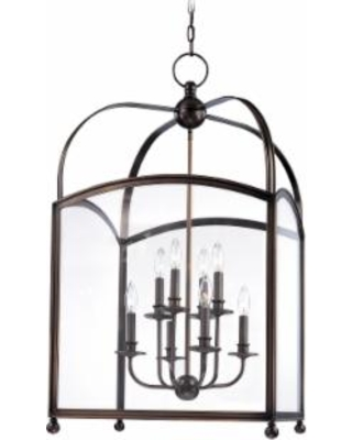 Hudson Valley Lighting Millbrook 20 Inch Cage Pendant - 8420-DB