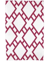 Ivy Bronx Sailer Beach Towel IVBX7474 Color: Pink
