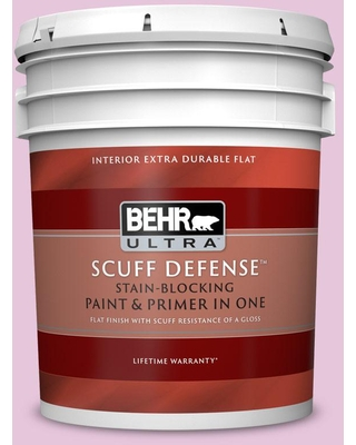 Shop Deals For Behr Ultra 5 Gal M120 2 Kiss Good Night Extra Durable Flat Interior Paint Primer