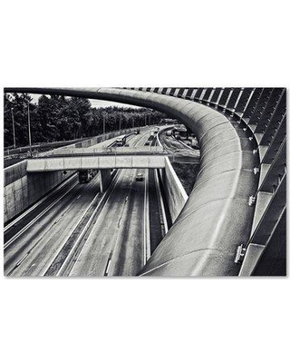 """Trademark Fine Art 'Circulation' Photographic Print on Wrapped Canvas 1X02915-C Size: 16"""" H x 24"""" W"""