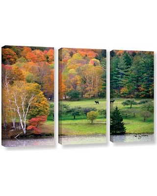ArtWall Killington Vermont by George Zucconi 3 Piece Photographic Print on Wrapped Canvas Set 0zuc004c3654w