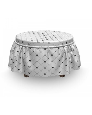Box Cushion Ottoman Slipcover East Urban Home
