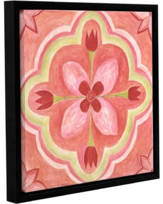 """Bungalow Rose Ambrosia Tile 2 Framed Painting Print on Wrapped Canvas BNGL8796 Size: 24"""" H x 24"""" W x 2"""" D"""