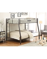 Acme Furniture ACME Limbra Black Sand Full over Queen Bunk Bed