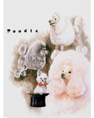 New Sales are Here! 51% Off Trademark Art 'Poodle' Oil ...