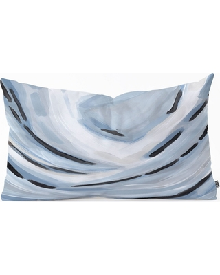 Laura Fedorowicz Abstract Throw Pillow Blue - Deny Designs