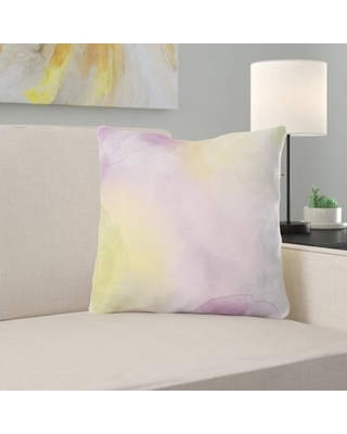 Don T Miss These Deals On Telma Watercolor Throw Pillow Ebern Designs Cover Material Microsuede Location Indoor